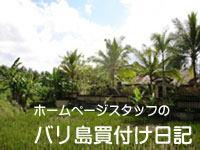 バリ島買い付け日記