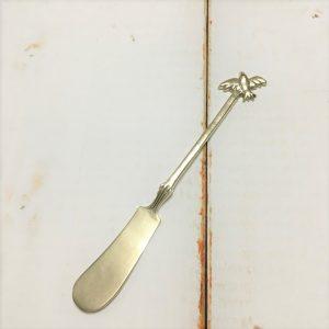 サヌ・バイさんの洋銀カトラリー・ことりのバターナイフ