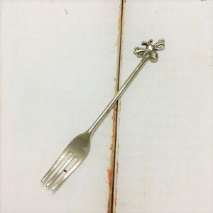 サヌ・バイさんの洋銀カトラリー・みつばちのフォーク