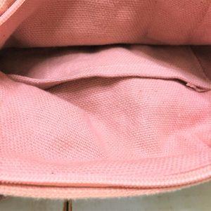 刺繍ミニボストン・ピンク