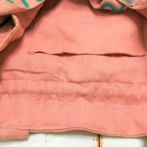 刺繍トートバッグ・ピンク