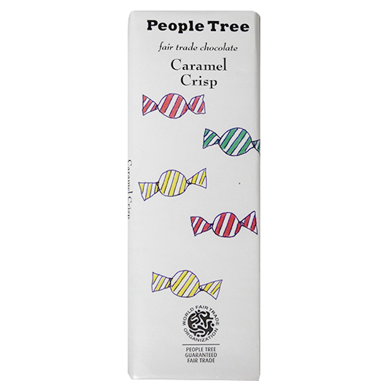 people tree チョコレート・キャラメルクリスプ