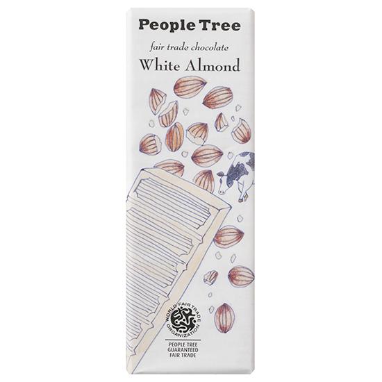 people tree チョコレート・ホワイトアーモンド